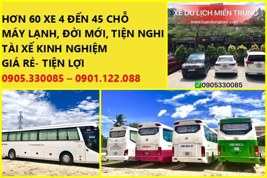 Thuê xe du lịch Quy Nhơn - Phú Yên